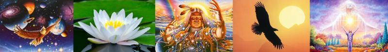 shamanic banner