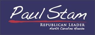 Paul Stam, NC House Majority Leader