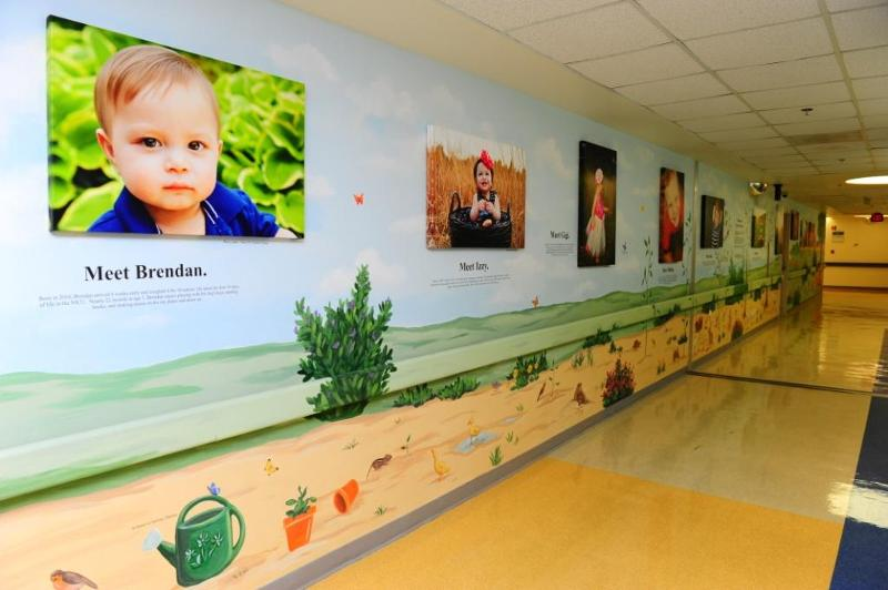 project give hope hallway