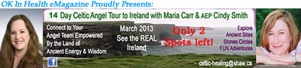 Celtic Angel Gathering 2013 Tour to Ireland with Maria Carr & Cindy Smith