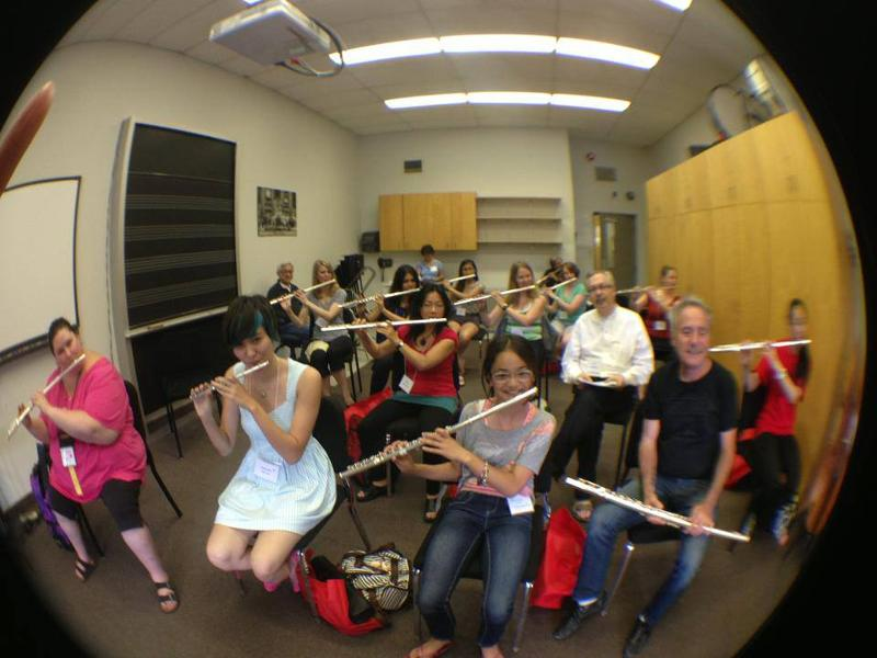 Viviana Guzman Masterclass Canada Flute Convention