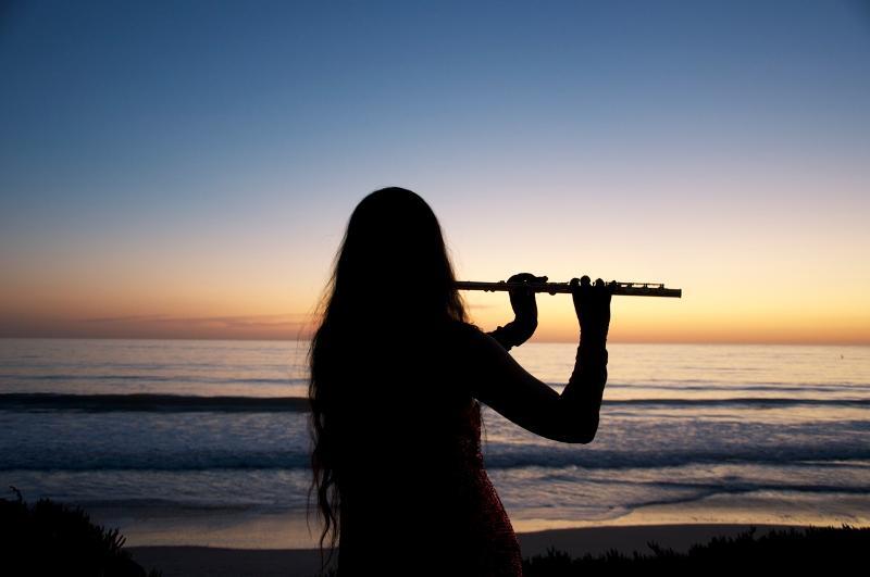 Sunset Flute