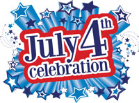 July 4 Logo