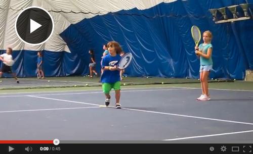 Tennis Summer Camp Video