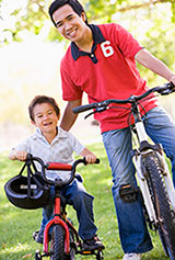 Father Son Bikes