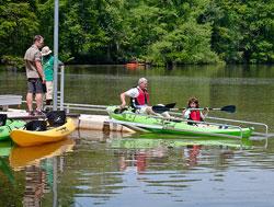 Kayak at Stumpy