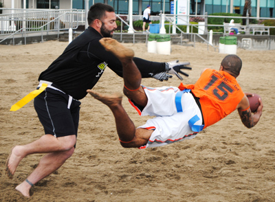 Coed Sand Football League