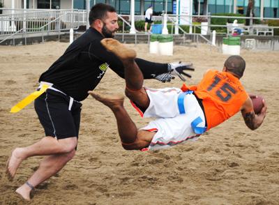 Coed Sand Football League