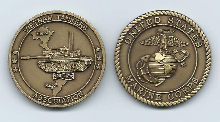 USMCVTA Coin