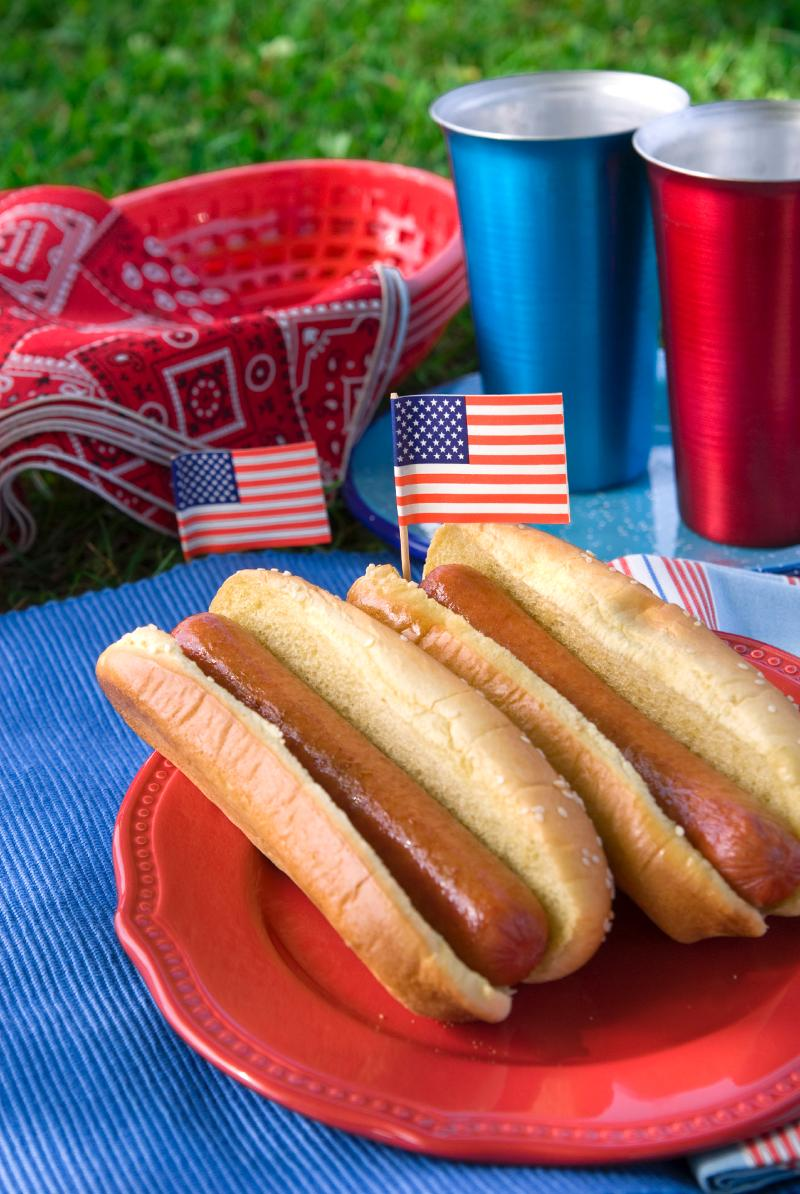 Picnic hot dogs