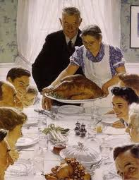 Rockwell holiday meal