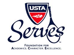 USTA Serves logo