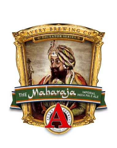 image The Maharajah Imperial India Pale Ale courtesy of Avery Brewing Company