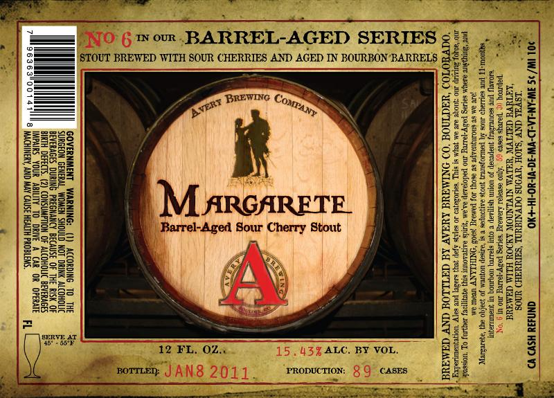 Margarete - No. 6 in our Barrel-Aged Series