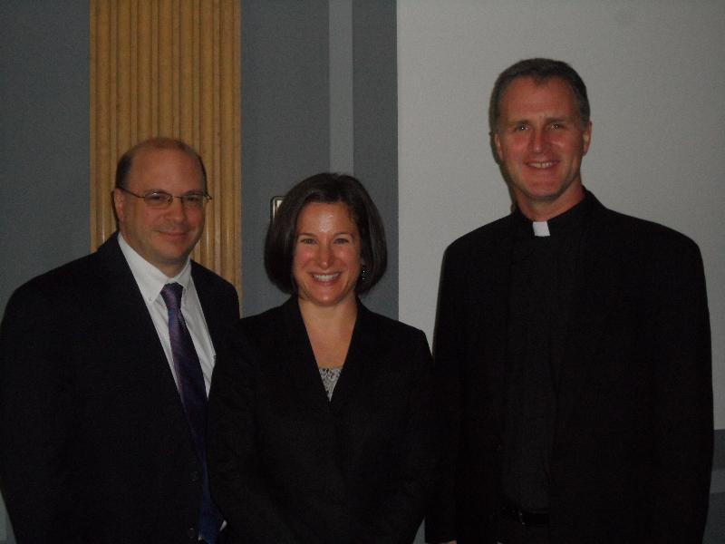 Kevin, Kristin & Tom Greene