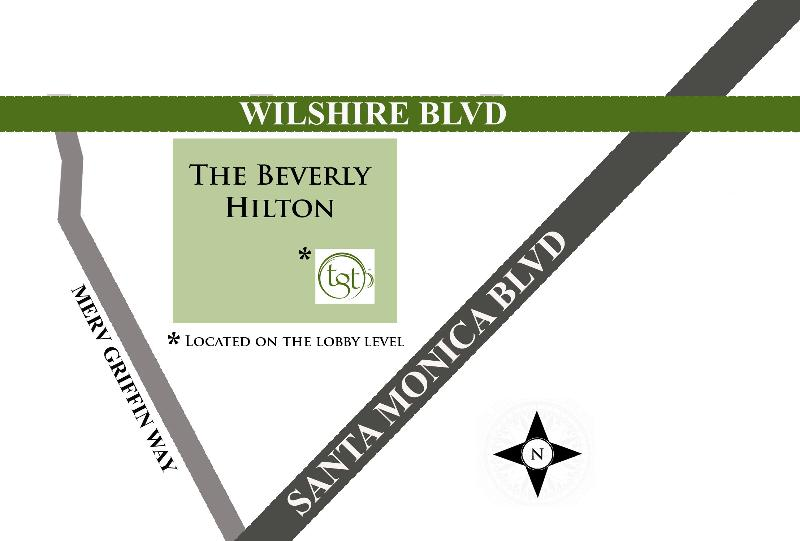 Beverly Hills Location Map