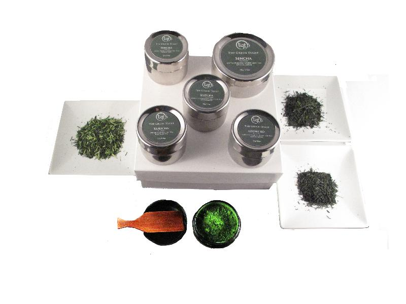 TGT (stainless steel) Tea Caddies for select Green Teas!