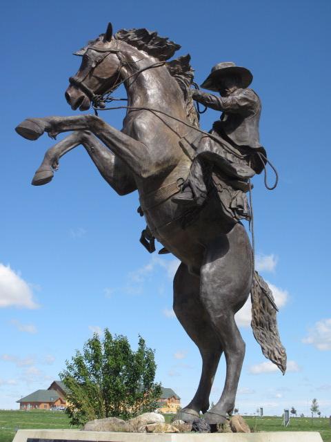 Gillette Statue