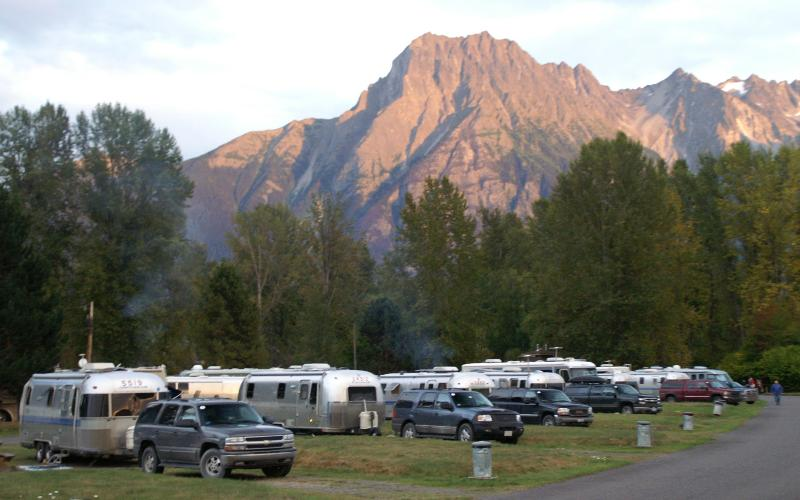 Parking Airstreams