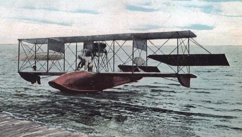 Flying Boat on the Water