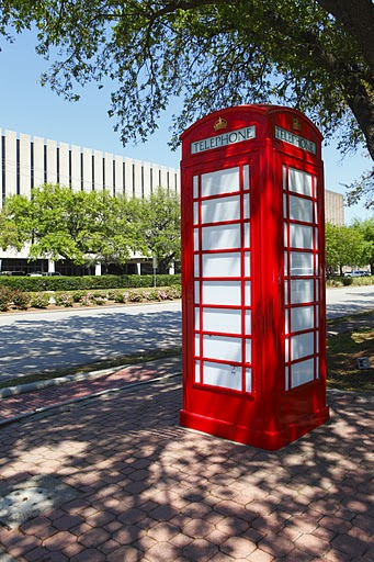 UK Phone Booth
