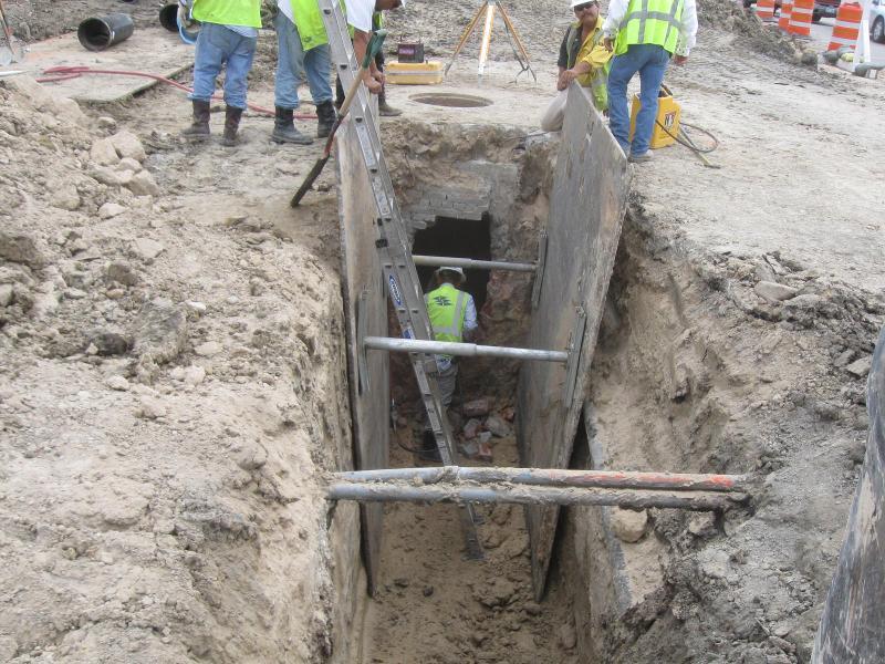Buffalo Speedway Construction 1