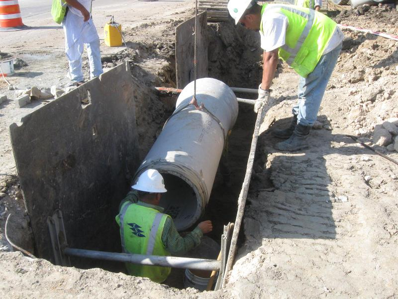Buffalo Speedway Construction 3
