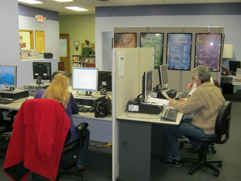 WEP, Inc. Job Center Resource Room