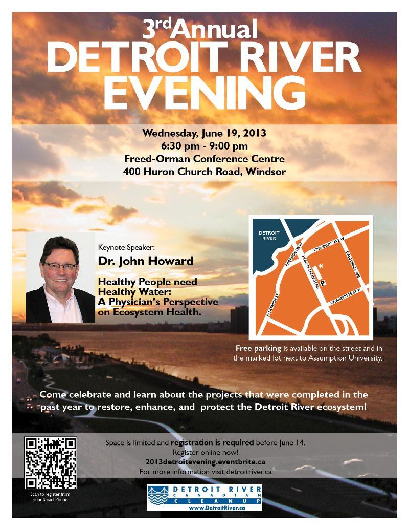 2013 Detroit River Evening