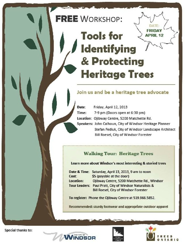 Heritage Tree Workshop