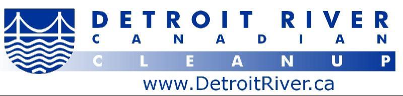 Detroit River Canadian Cleanup Logo