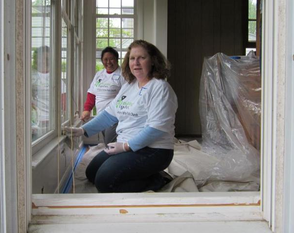 rebuilding volunteers