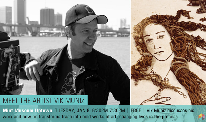 MEET THE ARTIST VIK MUNIZ