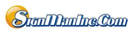 sign man logo