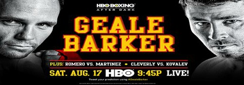 Geale vs. Barker Weigh-In Results & Photos