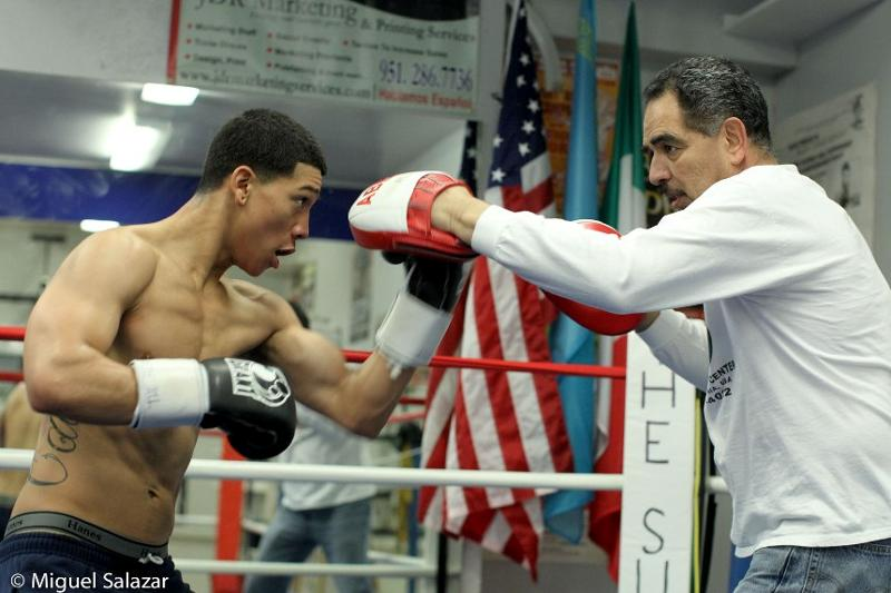 "JOEL DIAZ JR.RETURNS TO THE RING FEBRUARY 8TH ON ESPN2 ""FRIDAY NIGHT FIGHTS"""