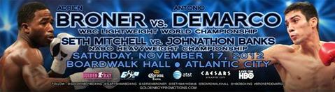 Adrien Broner vs. Antonio DeMarco Weigh-in