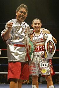 CARINA MORENO TO DEFEND WBA FLYWEIGHT TITLE IN REMATCH WITH SUSI KENTIKIAN