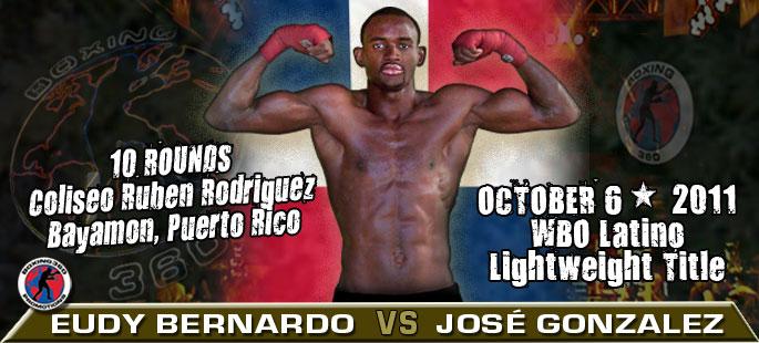 Eudy Bernardo vs. Jose Gonzalez