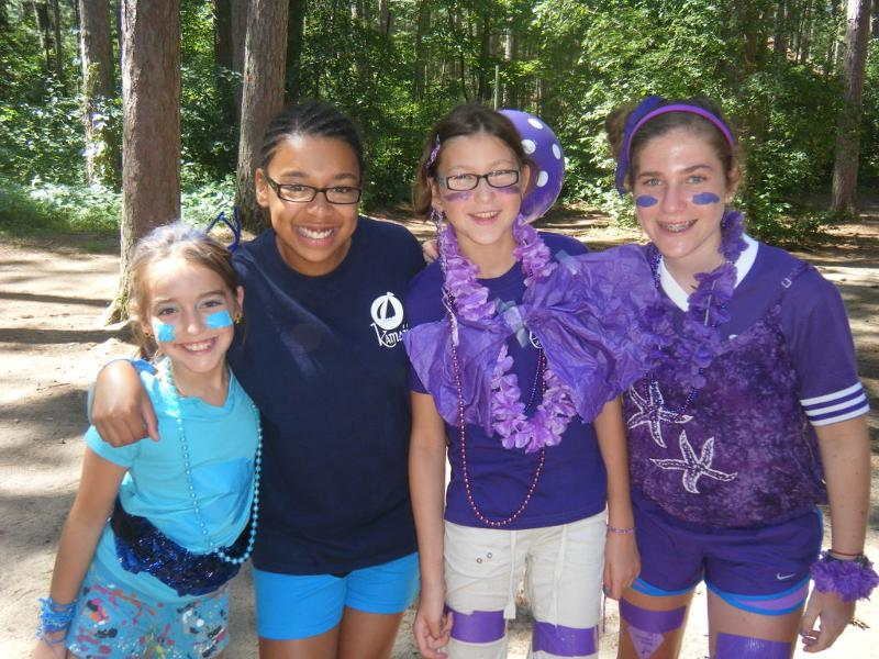 Kamaji campers on Tribe Day