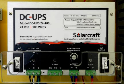Reliable Dc Ups Backup Dual Compartment Enclosures And