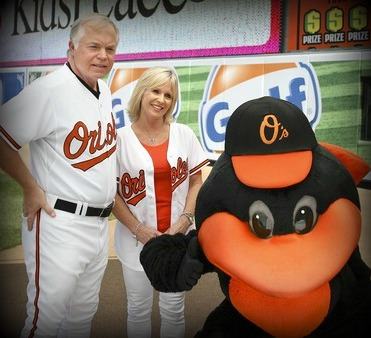 Angela and Buck Showalter