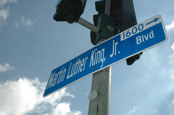 MLK Blvd sign