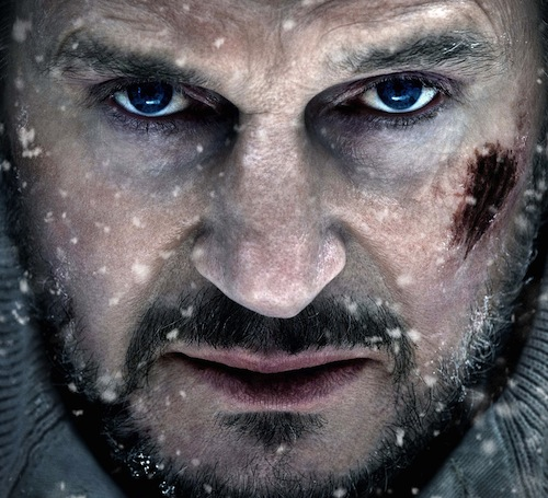 Neeson in The Grey