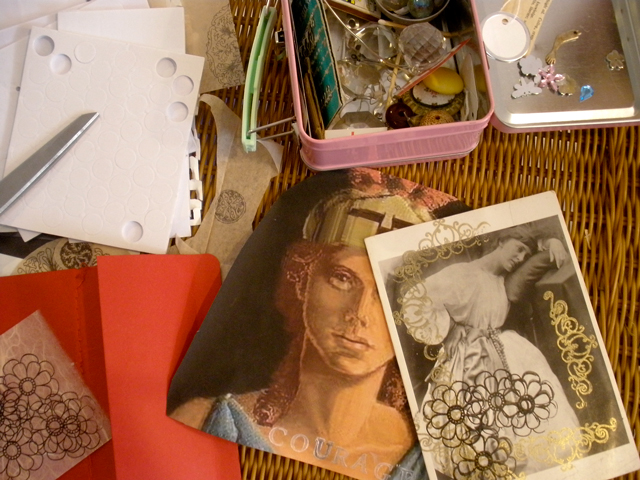 collage supplies