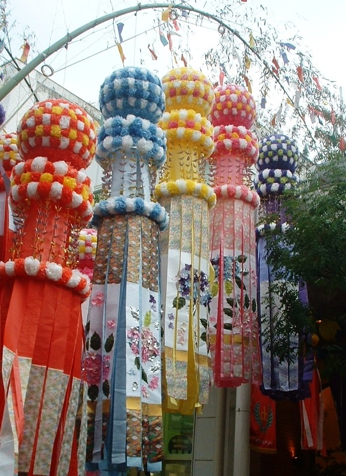 Tanabata_decorations