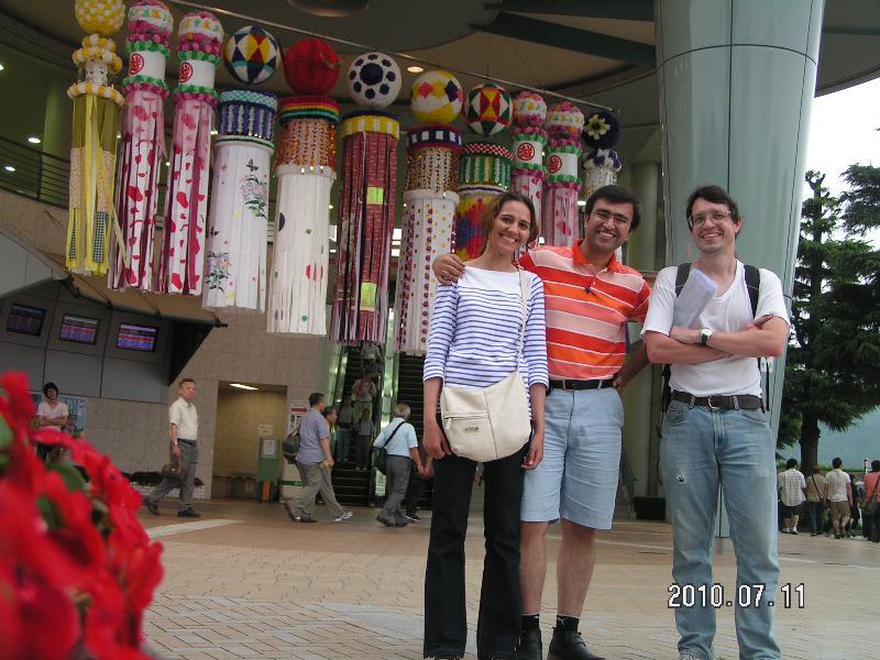 Marjan, Mohannad with Tanabata