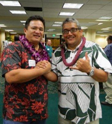 Mayor & Mike K at GM Mtg 3-15-12