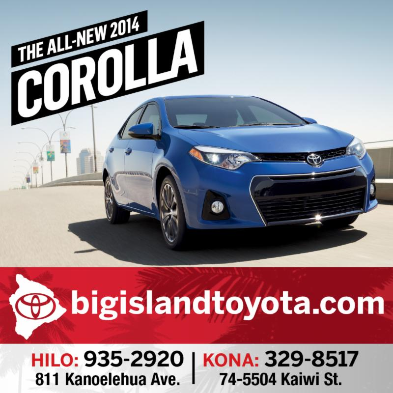 Big Island Toyota 2013-2014