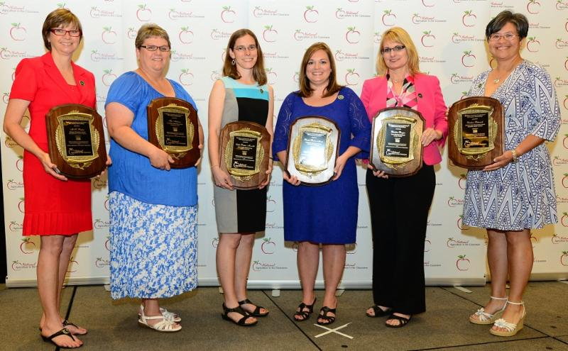 Winning Teachers at National Ag in the Classroom Conference